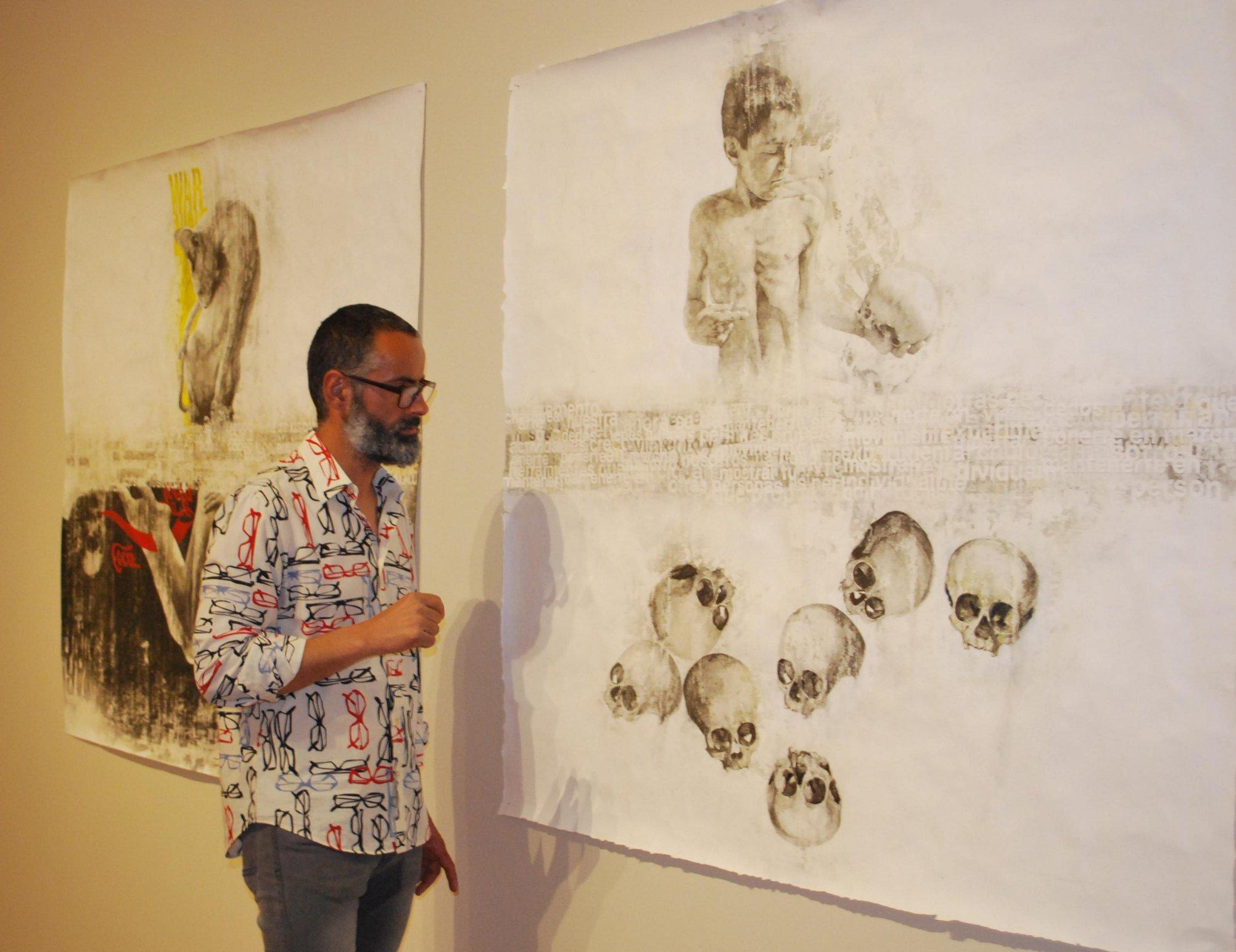 Exposición de Luis J. Fernández en el MUBAM